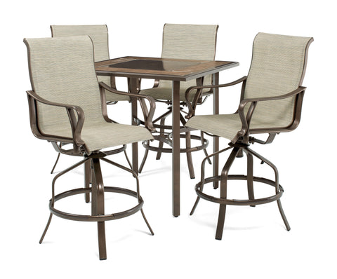 Rochester Sling 5pc High-Dining Patio Set  sc 1 st  La-Z-Boy Outdoor & Outdoor Patio Pieces - La-Z-Boy Outdoor Furniture