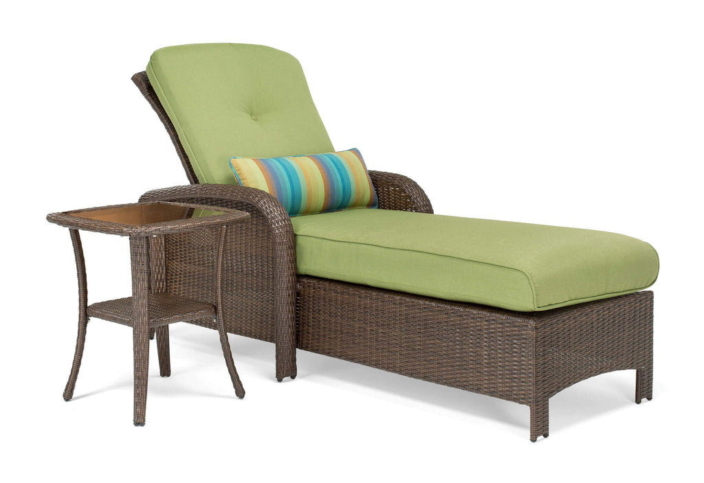 Sawyer Patio Chaise and Side Table