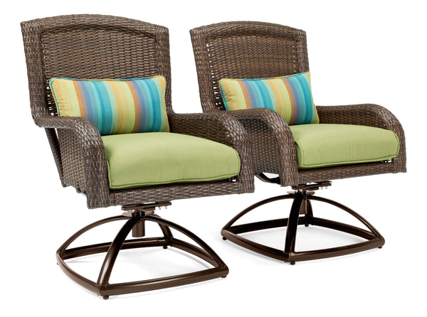 Sawyer Patio Swivel Rockers La Z Boy Outdoor