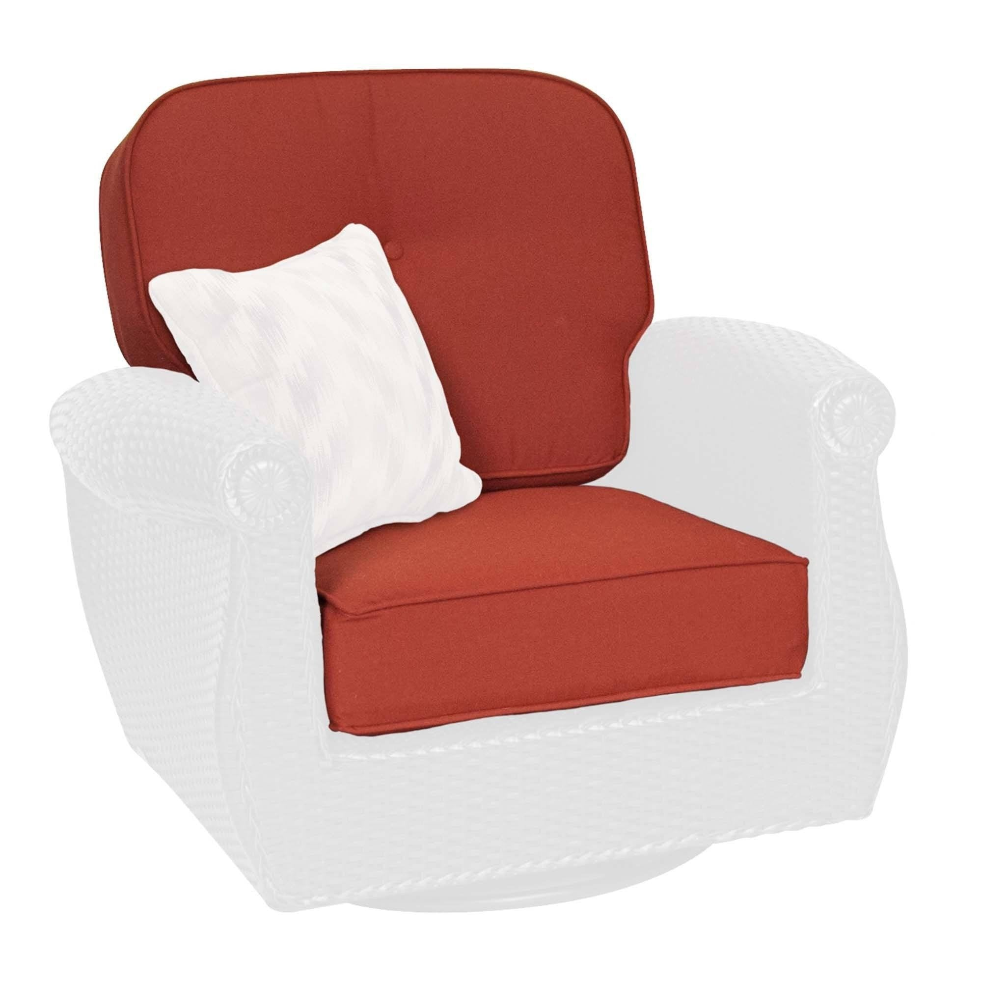 Replacement Cushions   Breckenridge Swivel Rocker Replacement Cushion Set