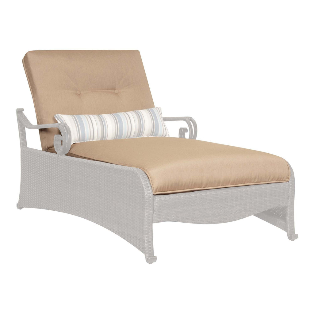 Replacement Cushions - Lake Como Chaise Lounge Replacement Cushion Set