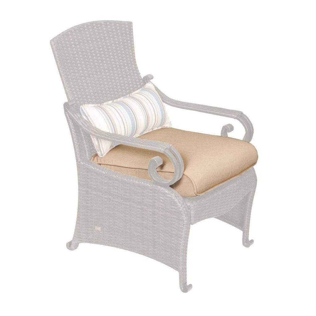 Replacement Cushions - Lake Como Dining Chair Replacement Seat Cushion