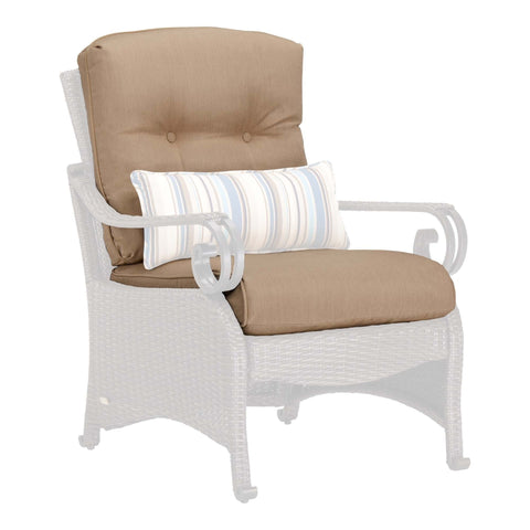Replacement Cushions - Lake Como Lounge Chair Replacement Cushion Set