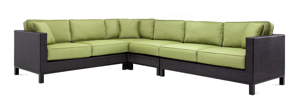Seating - Cabrera Sectional Seating Set (Cilantro Green)