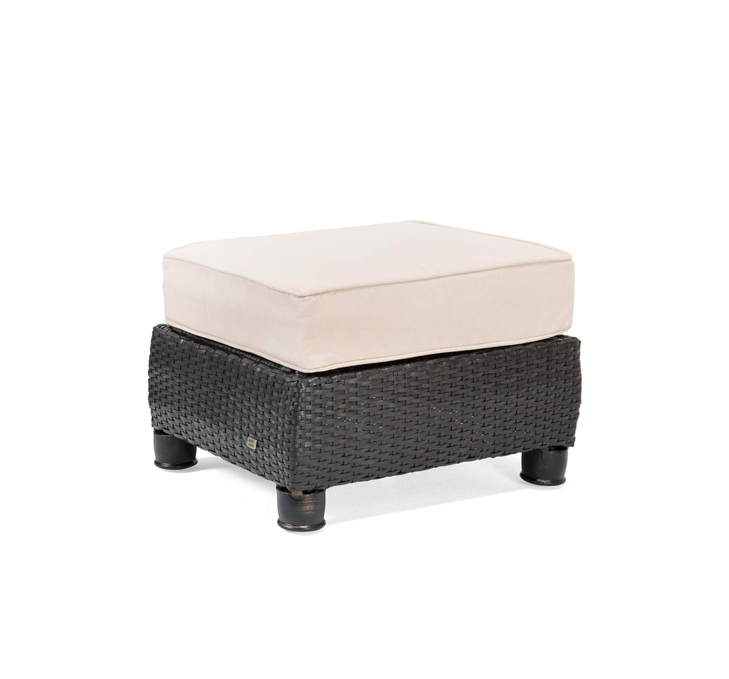 Breckenridge Patio Ottoman (Natural Tan)