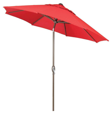 Umbrella - Bristol & Bella Vista Patio Umbrella (Scarlet Red)