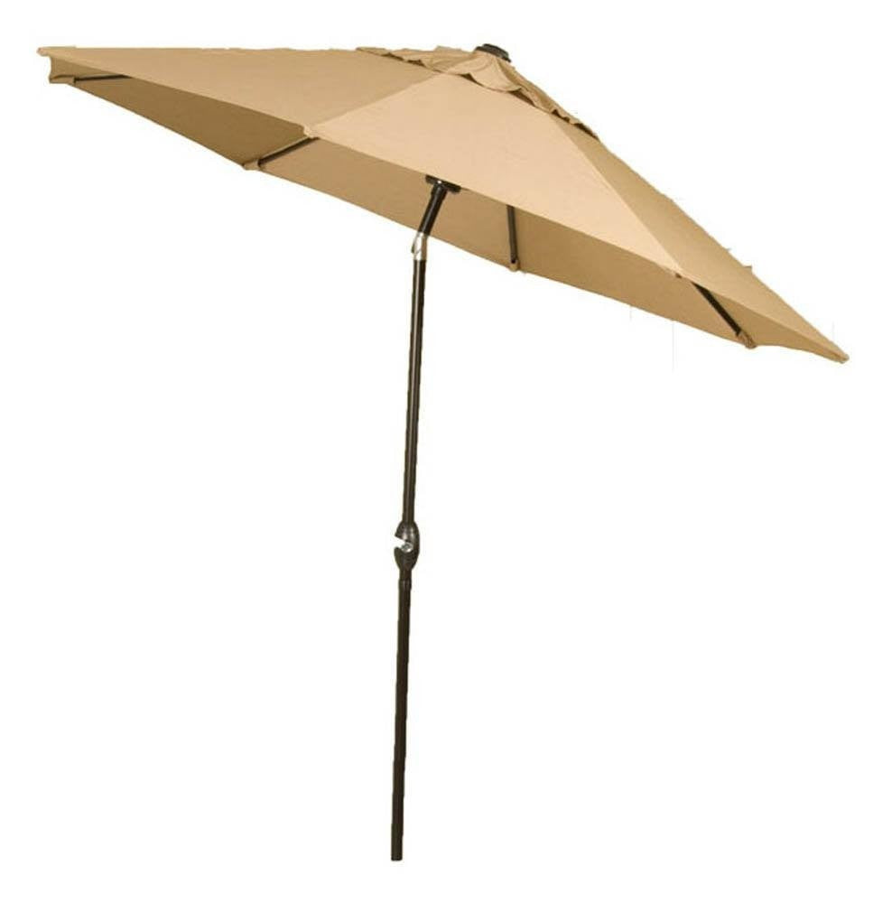 Umbrella - Lake Como Patio Umbrella (Khaki Tan, 8 Feet)