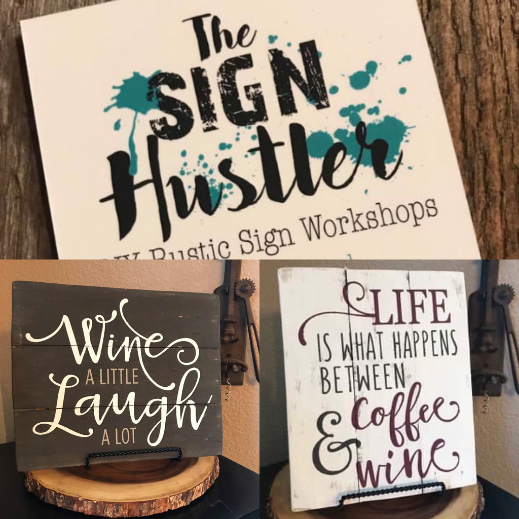 The Sign Hustler event on 5/10/19