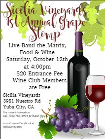 2019 Grape Stomp Wine Club Member