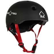 JR. CLASSIC FIT - MATTE BLACK (CERTIFIED) SPORTS BIKE HELMET