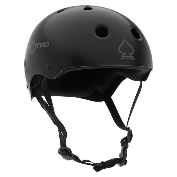 CLASSIC SKATE - MATTE BLACK HELMET FOR SALE