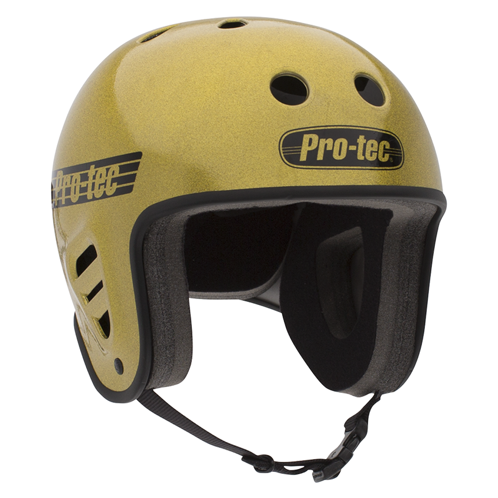 FULL CUT SKATE - GOLD FLAKE SKATING HELMET