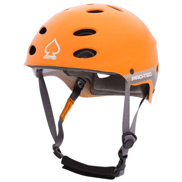 ACE WATER - SATIN RETRO ORANGE (2018) WAKERBOARD HELMET
