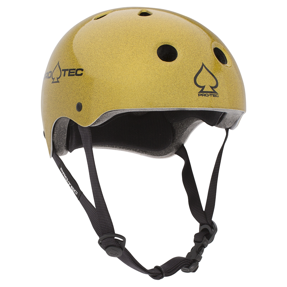 CLASSIC - GOLD FLAKE (CERTIFIED) BMX HELMETS
