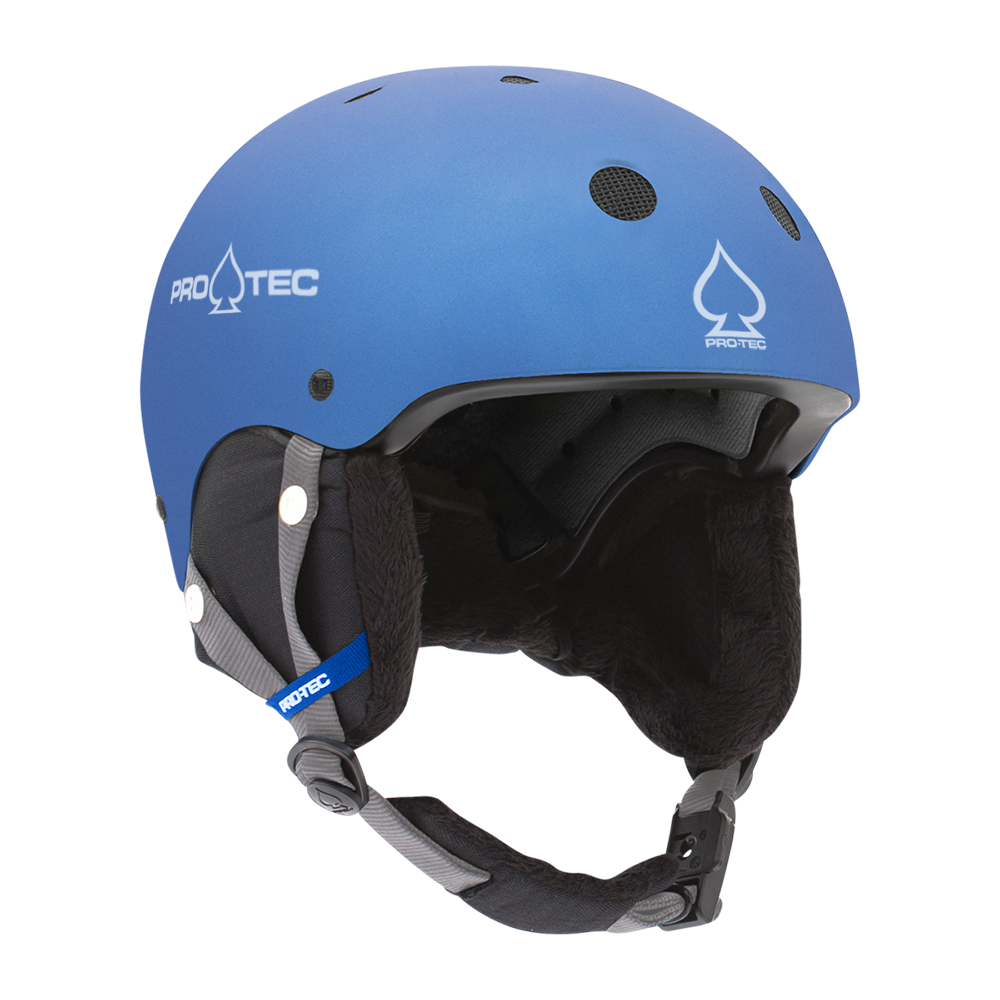 JR. CLASSIC CERTIFIED SNOW METALLIC BLUE SNOW HELMET