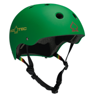 CLASSIC - MATTE RASTA GREEN (CERTIFIED) BEST BIKE HELMET
