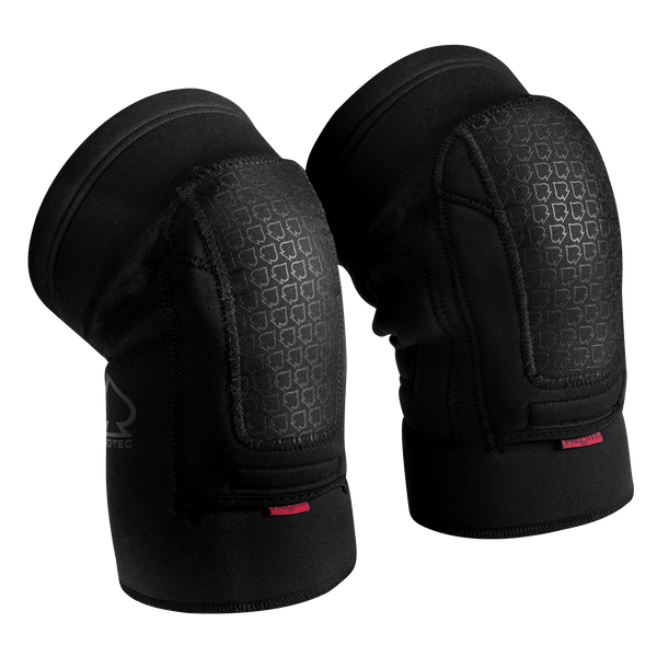 double-down-black-knee-pads