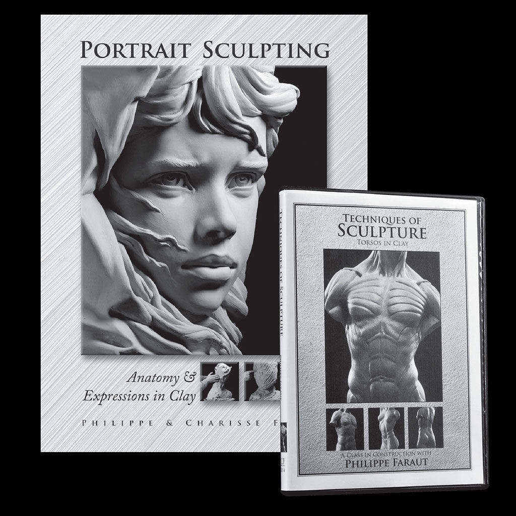 how-to sculpting books and DVDs by Philippe Faraut