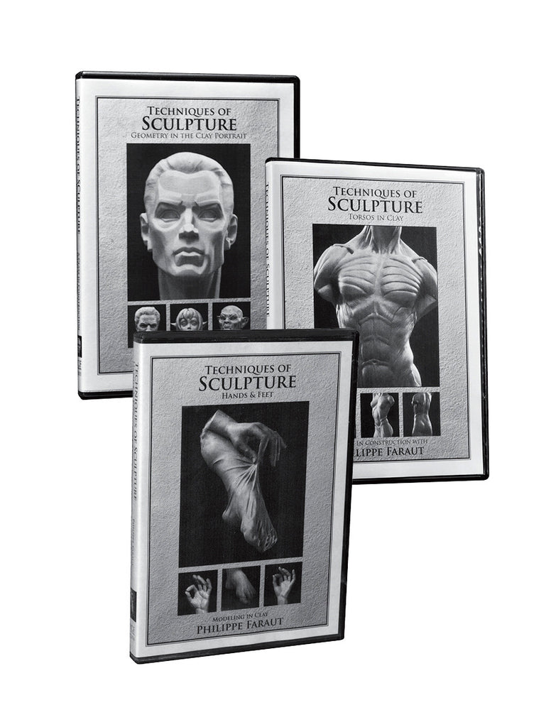 Techniques of Sculpture 3-DVD Set (#4-6)