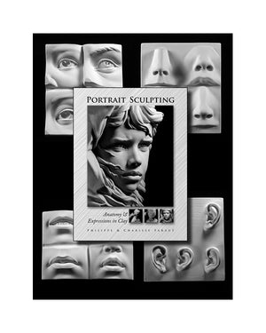 Book 1: Portrait Sculpting with Facial Features Set