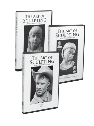 Art of Sculpting 3-DVD Set (#1-3)