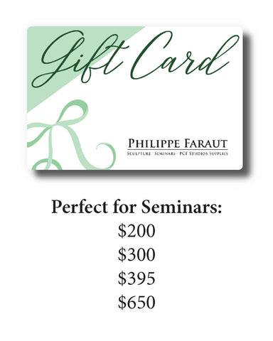 Gift Cards for Seminars
