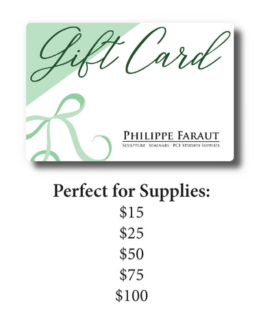 Gift Cards for Supplies