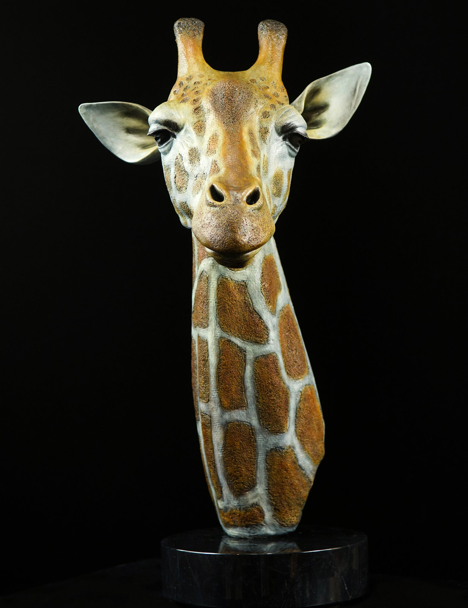 Pandemic Giraffe Limited Edition Bronze