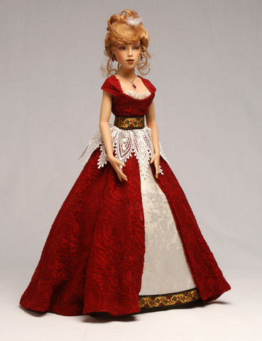 "15"" Sasha - Porcelain Doll Mold"