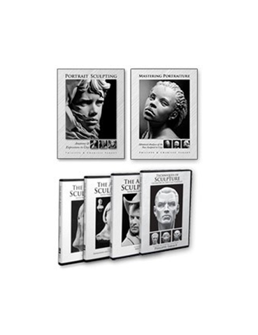 Portrait Sculpting 2-Book/4-DVD Set