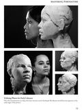 Mastering Portraiture book by Philippe Faraut sample page: likeness