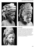 Mastering Portraiture book by Philippe Faraut sculpting a towel
