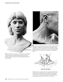 Sample page showing neck muscles from Portrait Sculpting book by Faraut