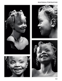 Mastering Portraiture book by Philippe Faraut sample page showing child