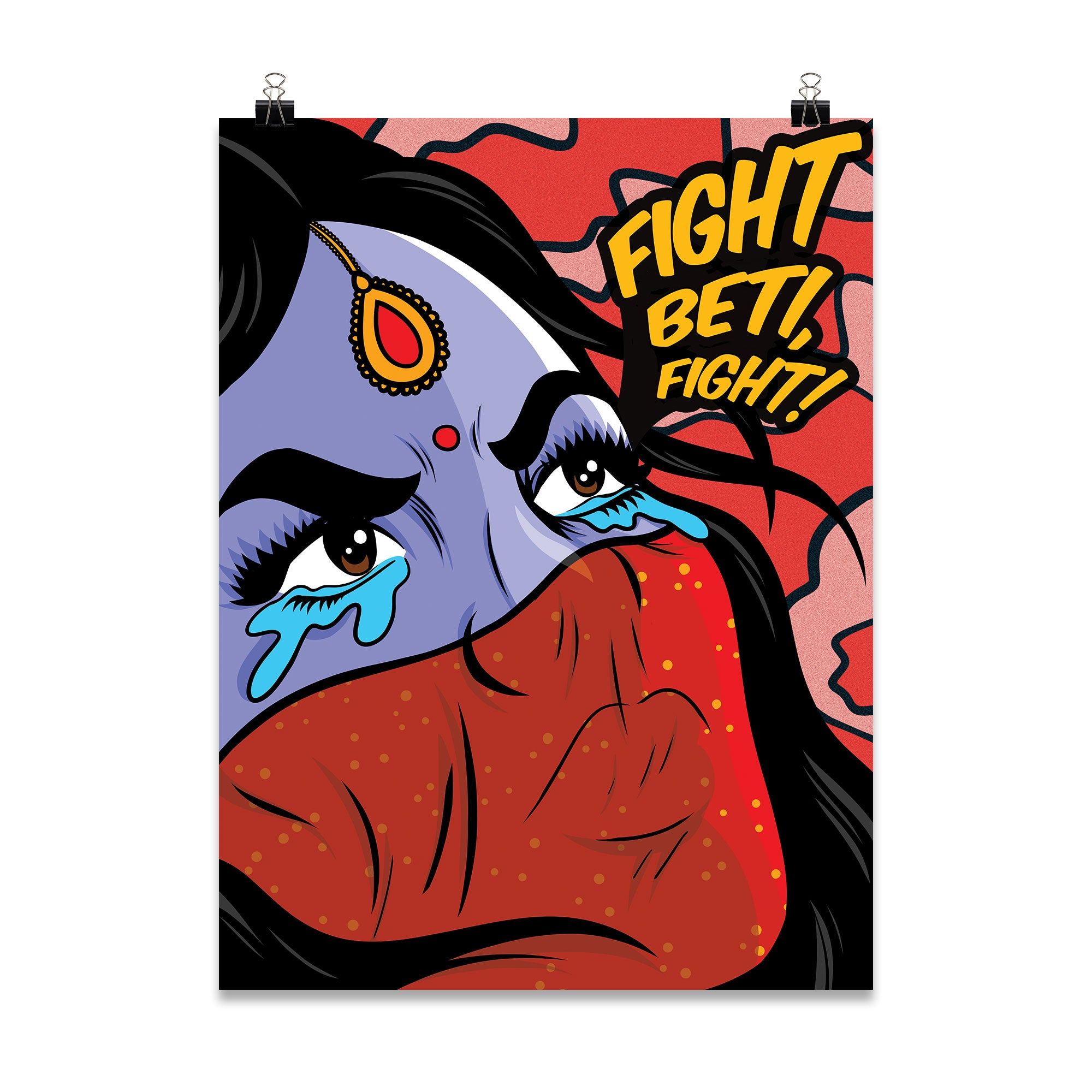 'Fight Beti!' Poster Print