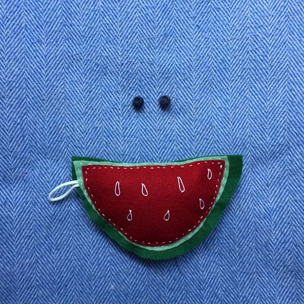 WATERMELON FELT TOY