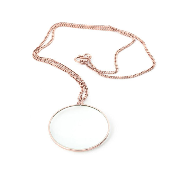 Gadget - Copper Necklace Magnifier