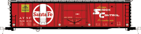 "RES22011 ATSF Topeka built Bx-97 50' XMLI 10'0"" Offset Door, ALT Delivery 11-65"