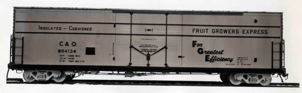 42004-04 C&O Builder's Scheme, FGE 50' RBL Plt B 7+7ADR 12-2 Ctr Door