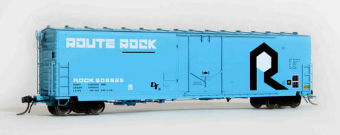 "11006 ROCK 1979 repaint, GA 50' RBL Sill 1/ 10'6"" Offset Door/ Wide Rods"