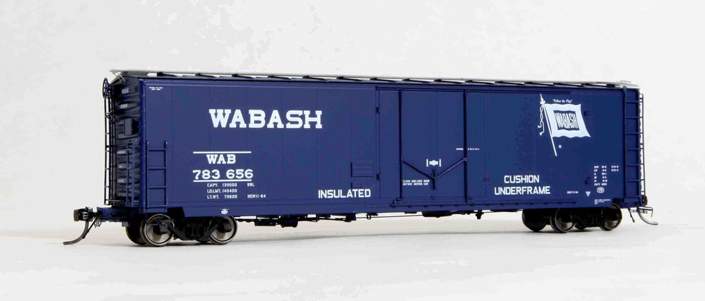 "11014 WAB delivery (loader equipped), GA 50' RBL Sill 1/ 10'6"" Offset Door/ Wide Rods"