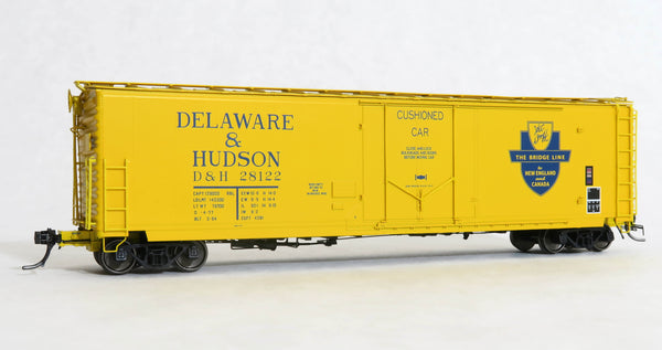 "11051-01 D&H 28122 Repaint O-4-77, GA 50' RBL Sill 1/ 10'6"" Offset Door/ Wide Rods"