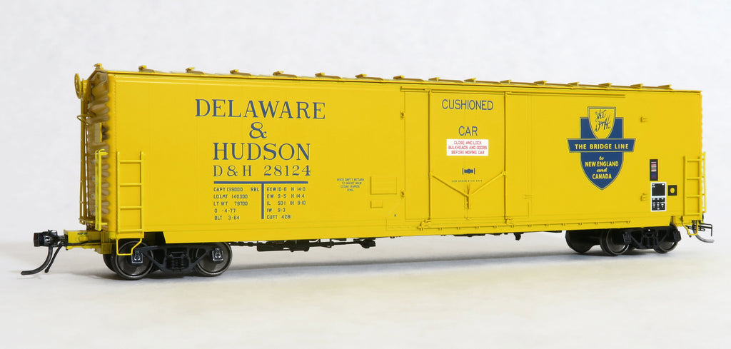"11051-02 D&H 28124 Repaint O-4-77, GA 50' RBL Sill 1/ 10'6"" Offset Door/ Wide Rods"