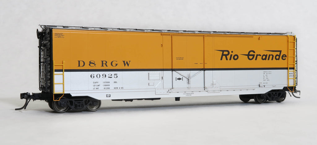 "12032  D&RGW Hydra-Cushion, GA 50' RBL Sill 2/ 10'0"" Centre Door"