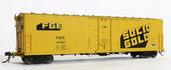 33010 FGER SOLID GOLD AX 4-82, FGE 50' RBL Plt B 7+7R 10-1 Ctr Door