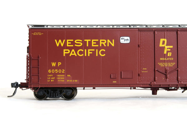 51008 WP Repaint EP.CO. 2-69, PCF 50' RBL Plt B 10-0 Offset Door, DF-B loaders, Air-Pak