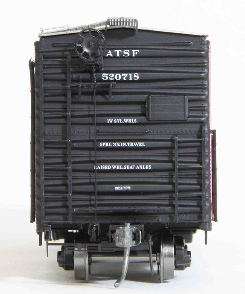 "22001 ATSF Topeka built Bx-97 50' XMLI 10'0"" Offset Door, Delivery"