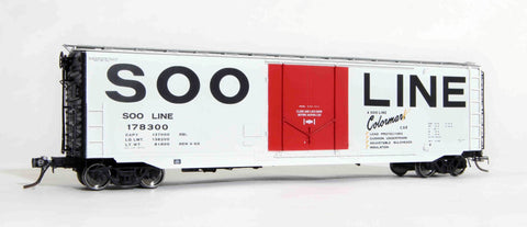 "12004 SOO delivery, GA 50' RBL Sill 2/ 10'0"" Centre Door"