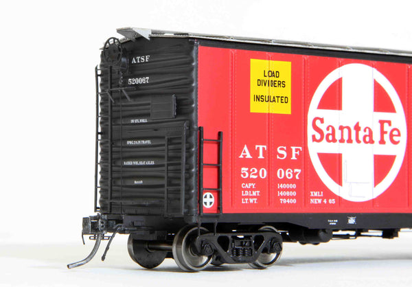 "21001 ATSF Topeka built Bx-94 50' XMLI 10'0"" Offset Door, Delivery"