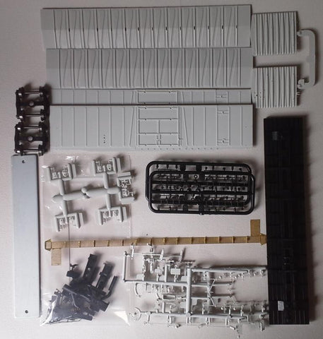 "21000-00 ATSF Topeka built Bx-94 50' XMLI 10'0"" Offset Door UNDEC KIT"